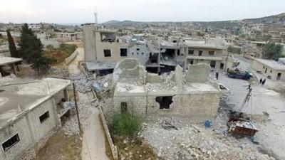İdlib'de rejim ve destekçisi Rusya'nın yol açtığı yıkım büyüyor