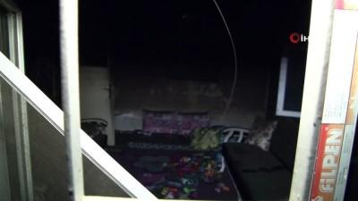 Yangın sonrasında iki kız kardeşten geriye sadece oyuncakları kaldı