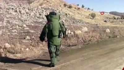 Şırnak'ta kadın bomba imha uzmanı şehit düştü