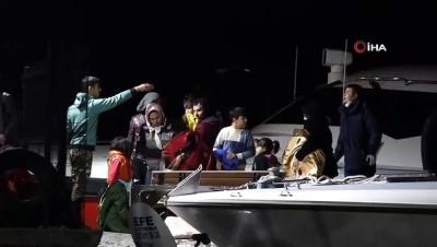 Çanakkale'de 94 düzensiz göçmen yakalandı