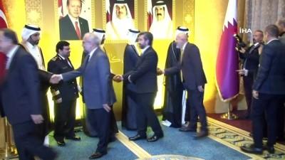 Katar Milli Günü resepsiyonu düzenlendi