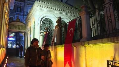 Hazreti Mevlana 746. vuslat yıl dönümünde Galata Mevlevihanesi'nde anıldı - İSTANBUL