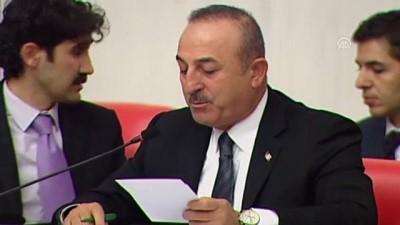 2020 Yılı Bütçesi TBMM Genel Kurulunda - Dışişleri Bakanı Çavuşoğlu, soruları yanıtladı (1) - TBMM