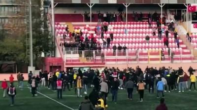 Kartal'da amatör maç sonrası tansiyon yükseldi