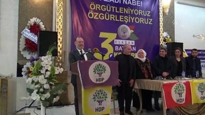 HDP Eş Genel Başkanı Sezai Temelli Batman'da