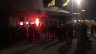 - ABD helikopterleri, Bağdat Büyükelçiliği üzerinde uçuş yaptı