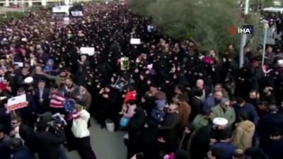 - İranlılar General Süleymani'nin intikamı için meydanlara indi