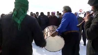 Güneydoğu'nun tek kayak merkezi Karacadağ vatandaşların akınına uğruyor