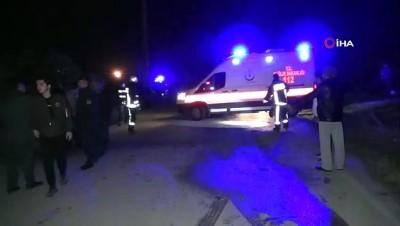 Kontrolden çıkan araç yol kenarına savruldu: 1 ölü, 1 yaralı