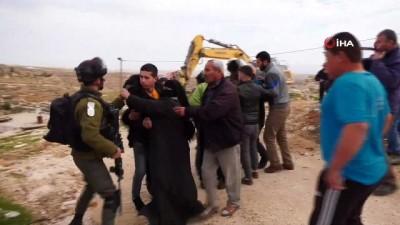 - İsrail güçleri Filistinli ailenin evini ikinci kez yıktı
