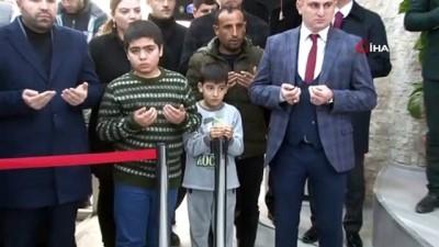 Şehit yakınları, Şehitlik Müzesinin açılışına katıldı