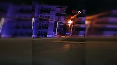 Ankara Sincan'da yangın paniği