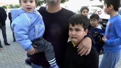 Elektrikli ısıtıcı faciasını çocuklar önledi