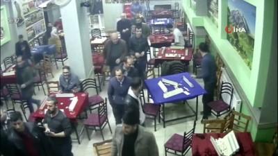 Deprem korkusunu kahvehanede yaşadılar...Korku dolu anları böyle anlattı