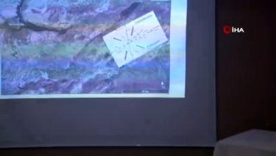 Yerbilimleri Araştırma Ekibi Elazığ'da araştırma yaptı