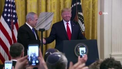 - ABD Başkanı Trump'tan sözde Orta Doğu Barış Planı açıklaması - 'Kudüs, İsrail'in bölünmez başkenti olarak kabul edilecek'