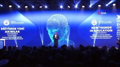 Milli Eğitim Bakanı Ziya Selçuk: 'Yapay zeka, sürdürülebilirlik ve finansa 2023 vizyonunda çok büyük bir yer ayırdık'