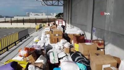 Türk Kızılayı'na deprem bölgesi için yardım yağdı