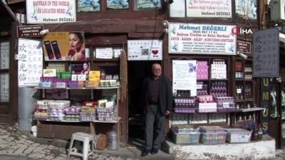 Safranbolu'da esnafın 'Çinli turist' tedirginliği