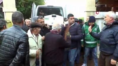 Karlı yaylada cenazesi bulunan çiftçi defnedildi