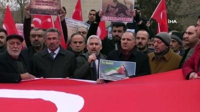 Iğdır'daki STK'lardan Trump'ın Orta Doğu Planı ve Yunan vekil Ioannis Lagos'a tepki