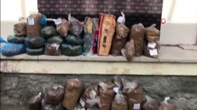 """Aksaray'da """"Duman 9"""" operasyonu: 103 kilo kıyılmış tütün ele geçirildi"""