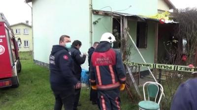 82 yaşındaki yaşlı adam evinde yanmış halde bulundu