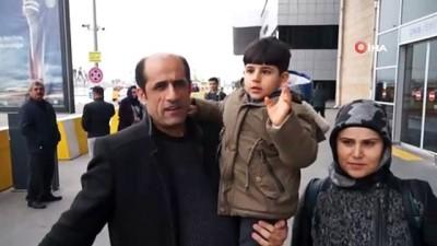 Beyincik erimesi olan Küçük Ahmet için 2.5 milyon lira toplandı, ailesi tedavi için Ankara'ya gitti