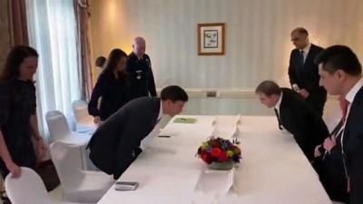 IKBY Başbakanı Barzani, ABD Savunma Bakanı ile görüştü - MÜNİH