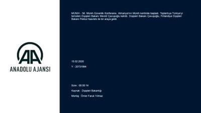Dışişleri Bakanı Çavuşoğlu, Finlandiya Dışişleri Bakanı Haavisto ile bir araya geldi - MÜNİH
