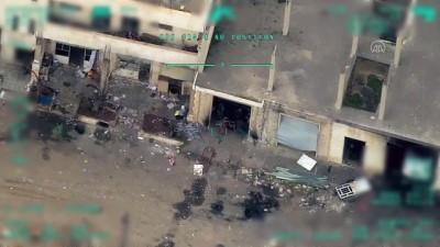 İdlib'te rejim hedefleri etkisiz hale getirildi (1)