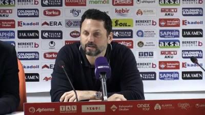 Aytemiz Alanyaspor-Beşiktaş maçının ardından - Erol Bulut - ANTALYA