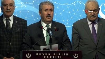 """Destici: """"Bu saldırılar ne bizim İdlib'den çekilmemize ne de kahraman ordumuza engel olamayacak"""""""
