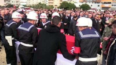 İdlib şehidi Piyade Uzman Onbaşı İbrahim Tüzel son yolculuğuna uğurlandı - MERSİN