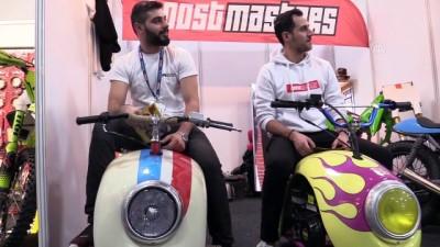 Evlerinde kurdukları atölyede motosiklet ürettiler - İSTANBUL