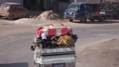 - Suriyeliler, Türkiye sınırlarına ilerliyor