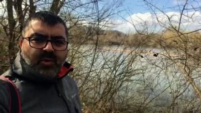 9 kişilik bir aile Meriç Nehri'ndeki bir adacıkta mahsur kaldı - EDİRNE