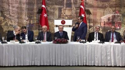 Cumhurbaşkanı Erdoğan: Suriye meselesi Türkiye için asla bir macera veya sınırlarını genişletme çabası değildir  - İSTANBUL