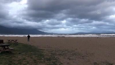 Ege'de şiddetli rüzgar hayatı olumsuz etkiliyor - AYDIN