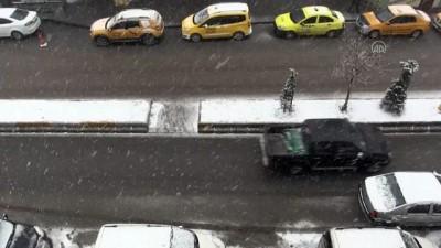 Kar yağışı etkili oluyor - AĞRI