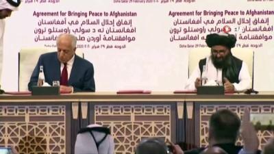 - ABD ile Taliban arasında tarihi anlaşma