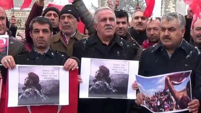 Türkiye Mehmetçik için tek yürek oldu - MUŞ