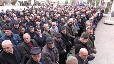 Kırıkkale'de İdlib şehitleri için gıyabi cenaze namazı kılındı