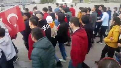 Öğrenciler Mehmetçik için tek yürek oldu
