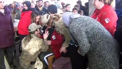 İdlib şehidi Uzman Onbaşı Selim Nergiz, son yolculuğuna uğurlandı (2) - GAZİANTEP
