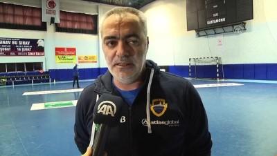 Kastamonu Belediyespor, Siofok maçı hazırlıklarını tamamladı - KASTAMONU