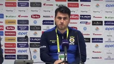 Fraport TAV Antalyaspor-Fenerbahçe maçının ardından - Recep Karatepe - ANTALYA