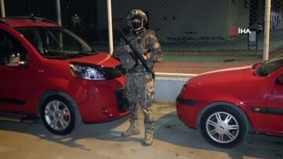Adana'da terör örgütü DEAŞ ve El Kaide operasyonu