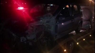 İki otomobilin çarpışması sonucu 4 kişi yaralandı - AKSARAY