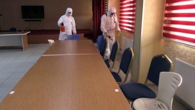 517 okul yeni tip koronavirüs salgınına karşı dezenfekte edildi - AĞRI